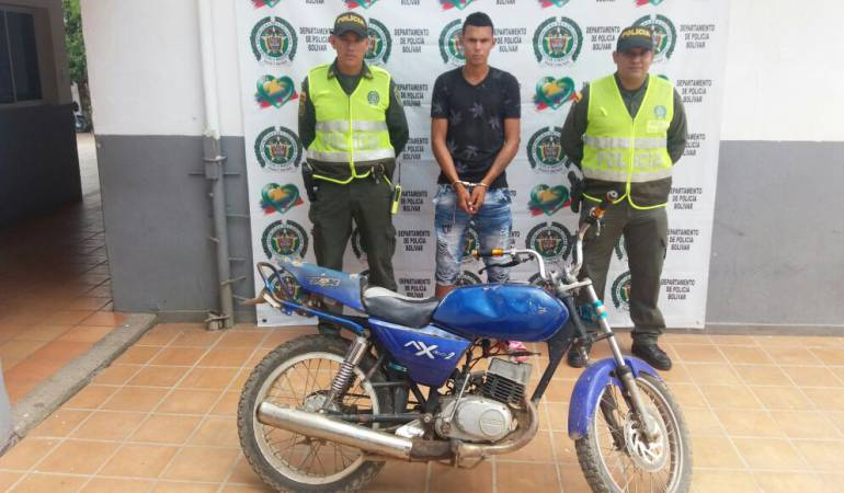 Policía capturó en Mompox, Bolívar, a otro integrante de banda de microtráfico