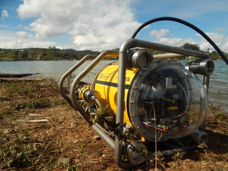 robot subacuático: En Medellín, crean robot submarino para exploraciones en el fondo del mar