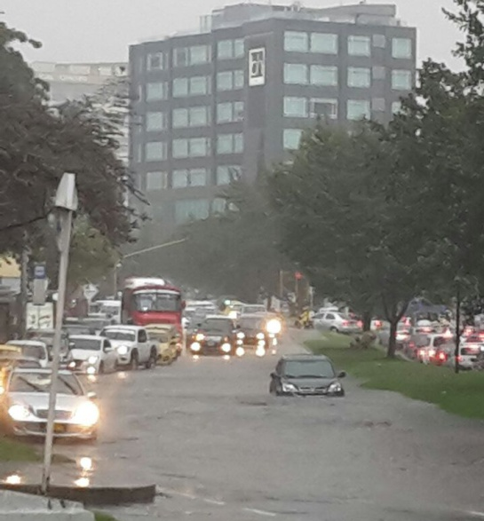 Lluvias en Bogotá: Encharcamientos en distintas zonas de la ciudad por fuertes lluvias