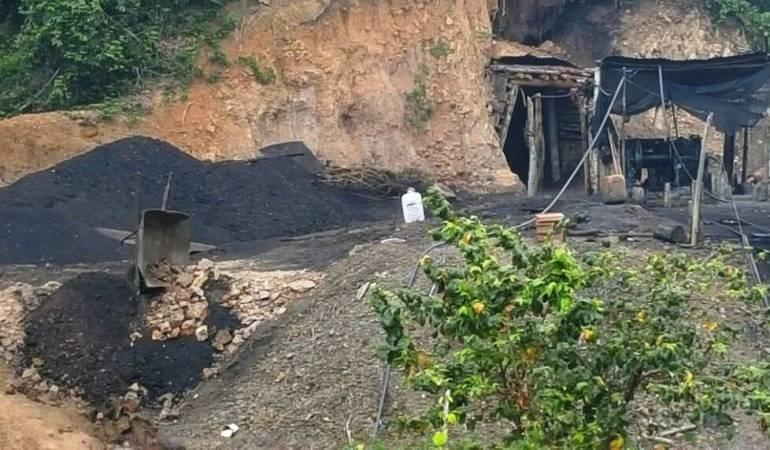 Venezolanos están trabajando en minería ilegal de la región