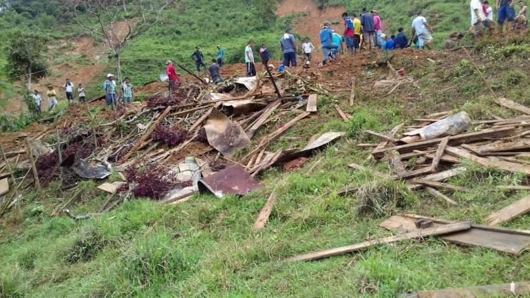 Antioquia sigue en alerta por deslizamientos e inundaciones