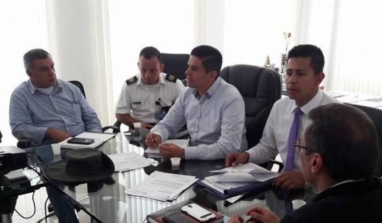 Ronald Mauricio Contreras Flores Alcalde de Pamplona