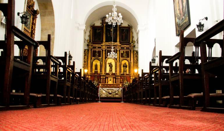 Excomulgan a delincuentes que robaron la custodia de una iglesia en Duitama: Excomulgan a delincuentes que robaron la custodia de una iglesia en Duitama