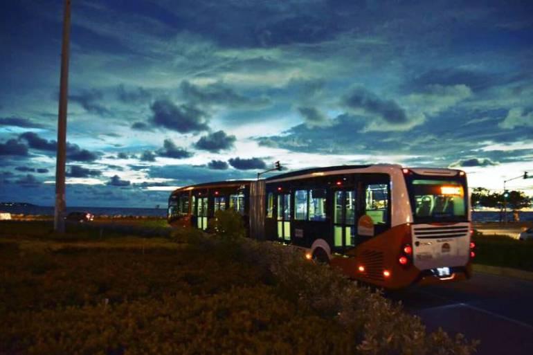 Transcaribe comenzaría a prestar servicio a las 5:30 am desde diciembre: Transcaribe comenzaría a prestar servicio a las 5:30 am desde diciembre