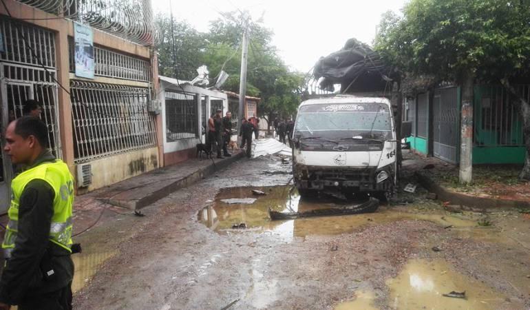 Ultimo ataque a la Policía que dejo 17 uniformados heridos