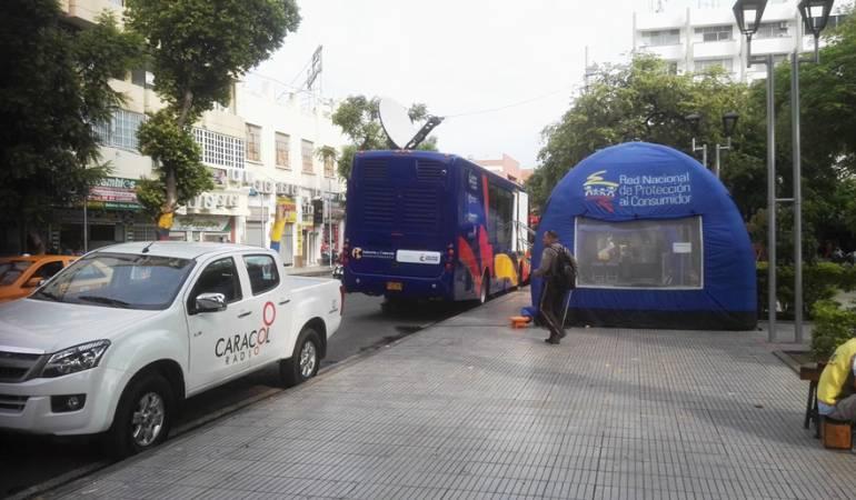 Hasta el viernes 18 de noviembre estará el bus en el parque Santander