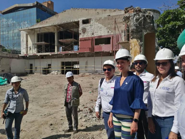 Restauración del Teatro Santa Marta culminará en junio de 2018