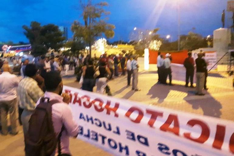Centrales obreras en cartagena protestaron contra la - Reformas en cartagena ...