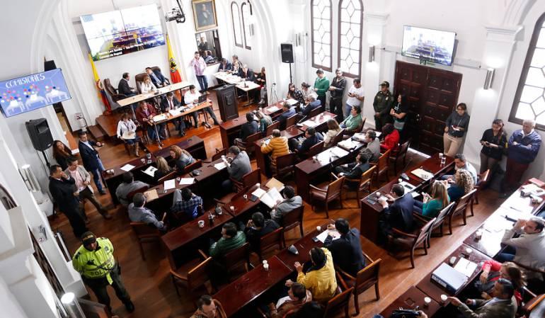 Presupuesto de Bogotá para el 2017: Concejo de Bogotá dará luz verde a presupuesto de 2017 la próxima semana