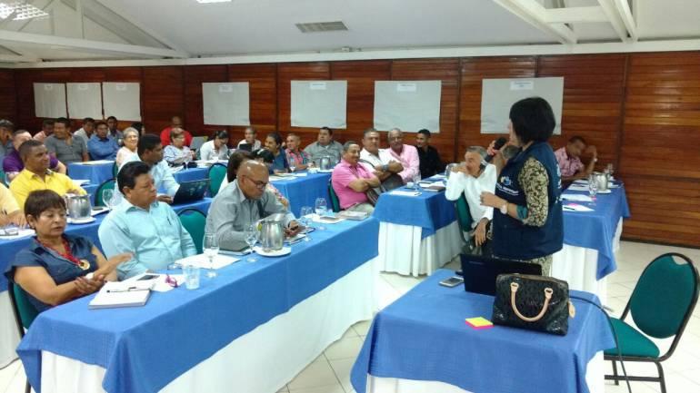 Rectores de Bolívar atendieron jornada de 'Todos a Aprender' en Cartagena