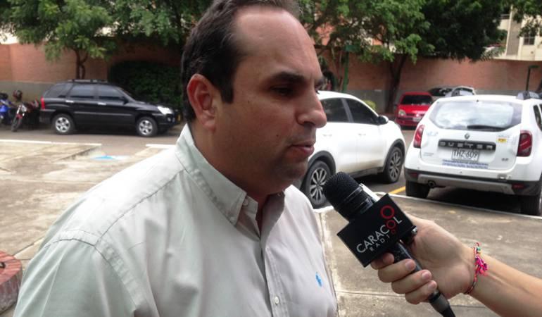 Gregorio Angarita Lank director de la Corporación Autonoma Nororiental Corponor