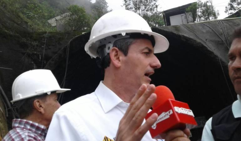 Túnel de La Línea: Invías hará mantenimiento al túnel de La Línea mientras se adjudica lo que falta