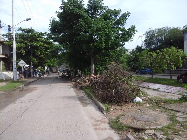 Operativo de recuperación de zona verde y limpieza en Blas de Lezo, Cartagena: Operativo de recuperación de zona verde y limpieza en Blas de Lezo, Cartagena