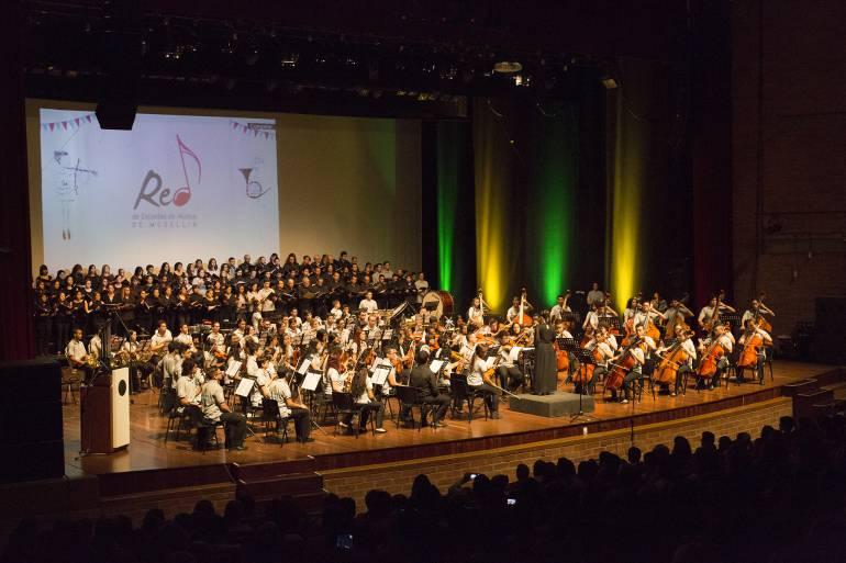 La Red de Escuelas de Música de Medellín tiene 20 mil hijos