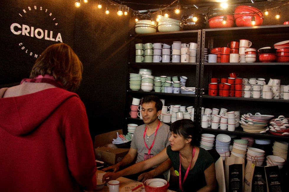 También habrán stands de emprendedores de Barranquilla, Cali, Bucaramanga, Medellín, Cartagena y Boyacá.