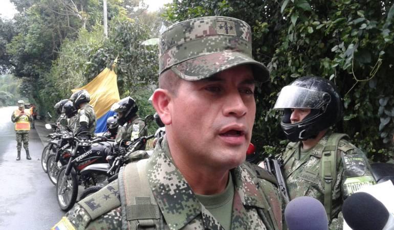 Seguridad Eje Cafetero: El Ejército redobló su presencia en las vías del Eje Cafetero
