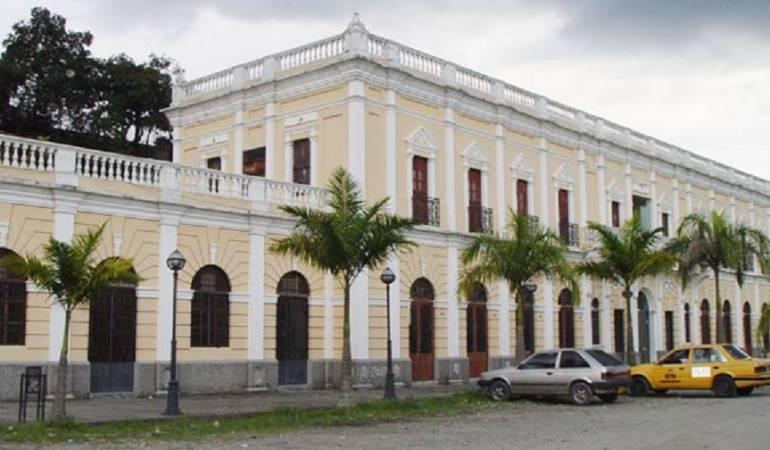 Antigua estación del ferrocarril: En enero reanudan obras de la antigua estación del ferrocarril de Armenia