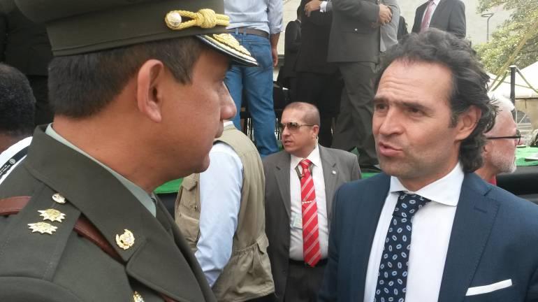 General Óscar Gómez, comandante Policía Medellín: General Óscar Gómez asumió el mando de Policía Metropolitana de Medellín