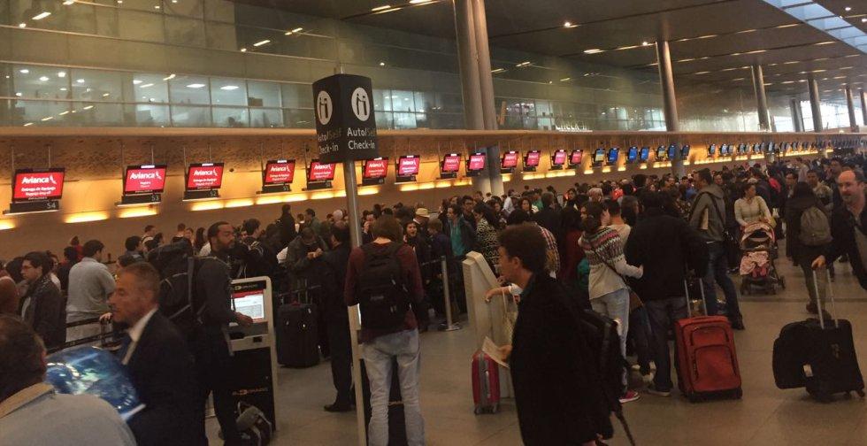 Se espera que salgan del puerto aéreo más de 100.000 pasajeros.