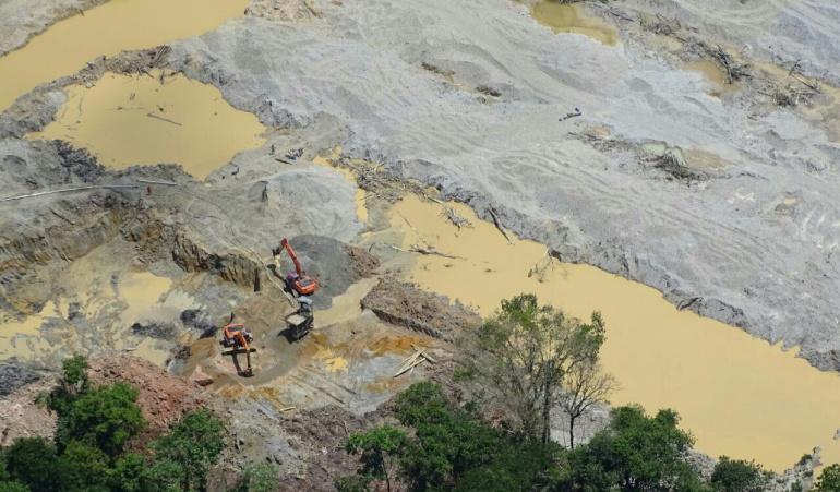 Mineria en Cundinamarca: CAR impone la sanción económica más alta de la historia por extracción minera