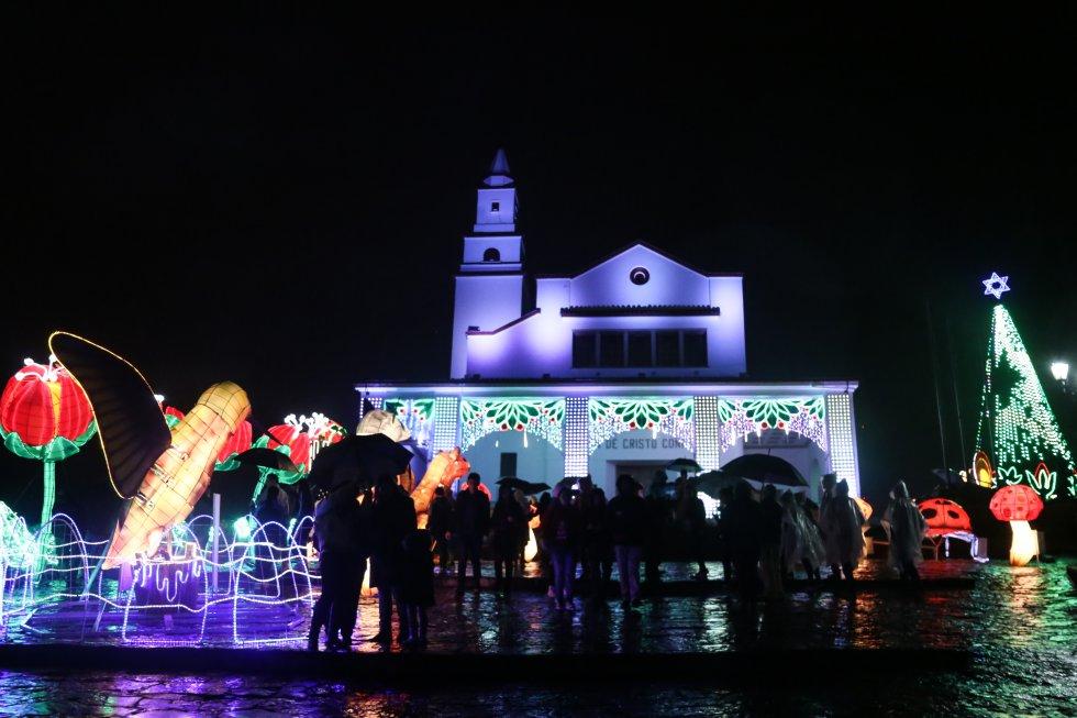 Bogotanos podrán disfrutar del alumbrado navideño hasta el próximo 9 de enero.