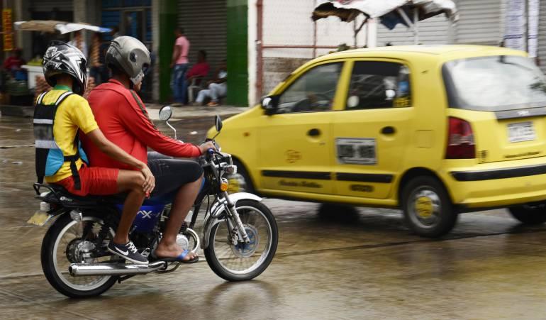 Restringen parrillero en Ibagué: Se restringe movilización de parrillero en moto en Ibagué