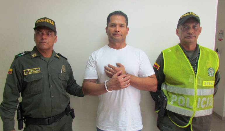Legalizan captura de Oswaldo Mestre en Cartagena, por corrupción en los JJNN