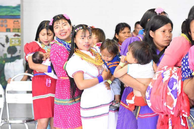 Con educación y recreación se evita mendicidad en niños indígenas en Medellín