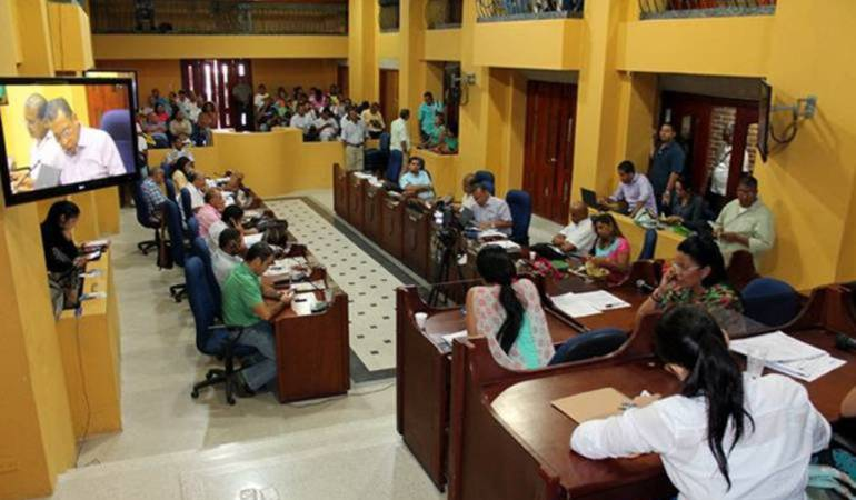 Concejo de Cartagena rinde homenaje póstumo a Guillermo Valencia Abdala