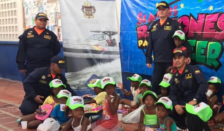 Niños de Isla Tierra Bomba en Cartagena disfrutaron de la Navidad