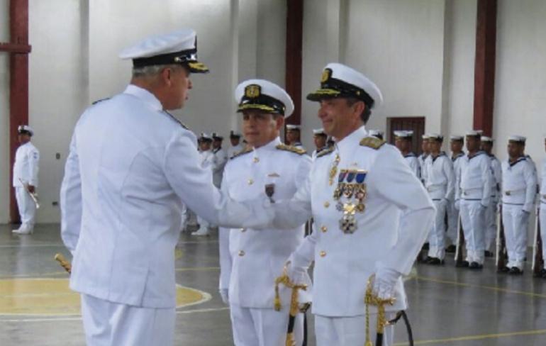Nuevo comandante de la Fuerza Naval del Pacífico: Comandante nuevo en la Fuerza Naval del Pacífico