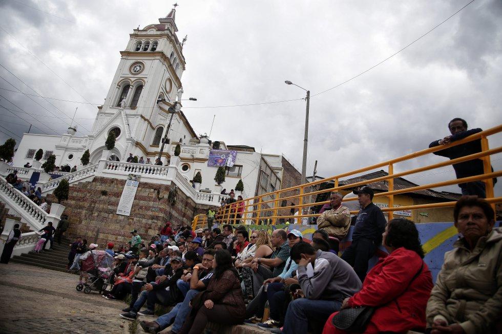 La fiesta de los reyes magos es una de las más importantes en este barrio al sur de Bogotá