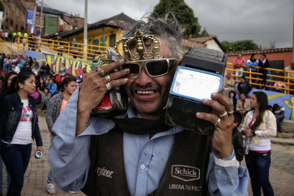 La fiesta de los reyes magos hace parte de la cultura y tradición de los habitantes de este sector de la capital colombiana y de la de sus vistantes.