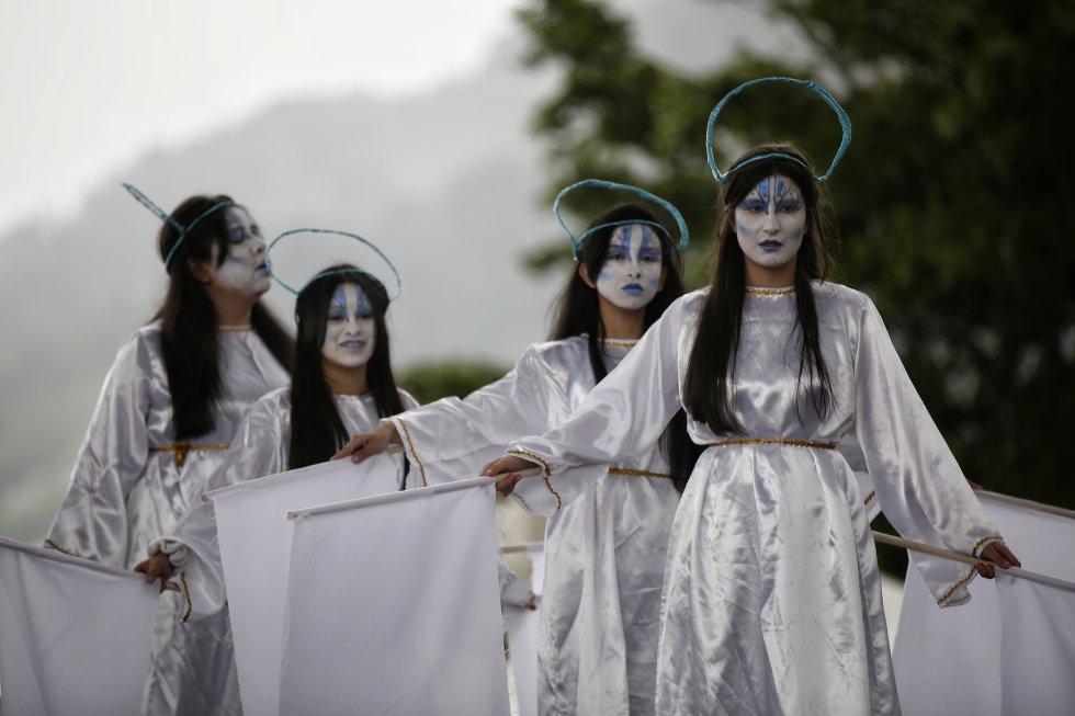 La fiesta de los reyes magos es una de las más importantes en el calendario de celebraciones en este barrio al sur de Bogotá