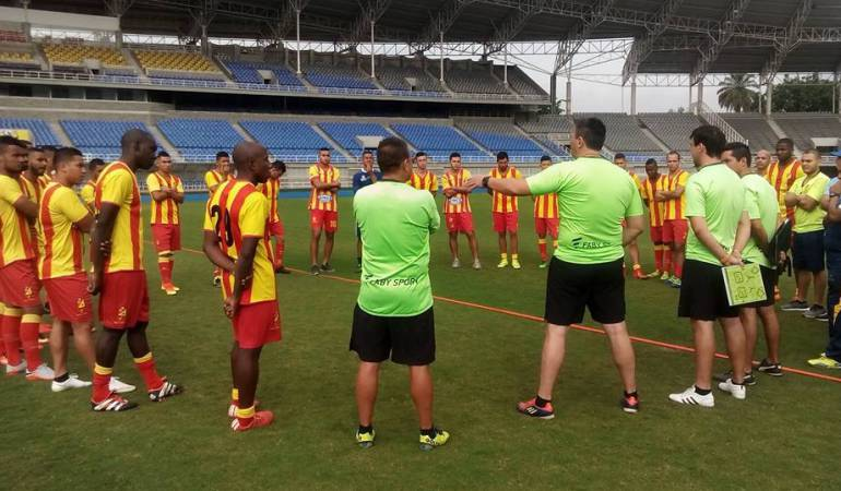 Deportivo Pereira inició pretemporada con nuevas caras