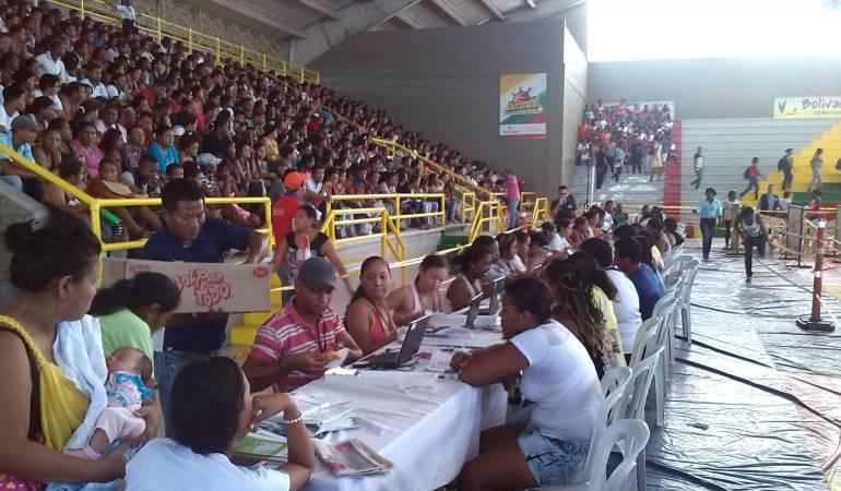 En Cúcuta, más de 56 mil personas se benefician de los aportes económicos del estado.