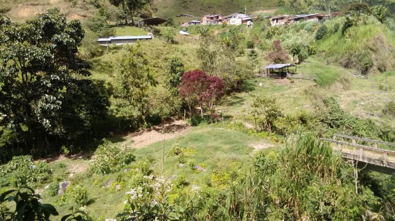 Santa Lucía, Campamento Farc: A comunidad de Santa Lucía no le afecta que campamento Farc esté cerca