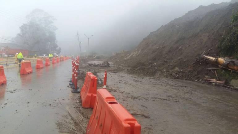 Alcalde de Copacabana exige certificado de seguridad para poder abrir la autopista Medellín - Bogotá
