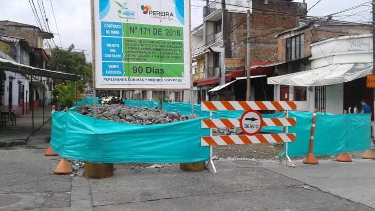 90 días estará cerrada la calle principal de Corocito