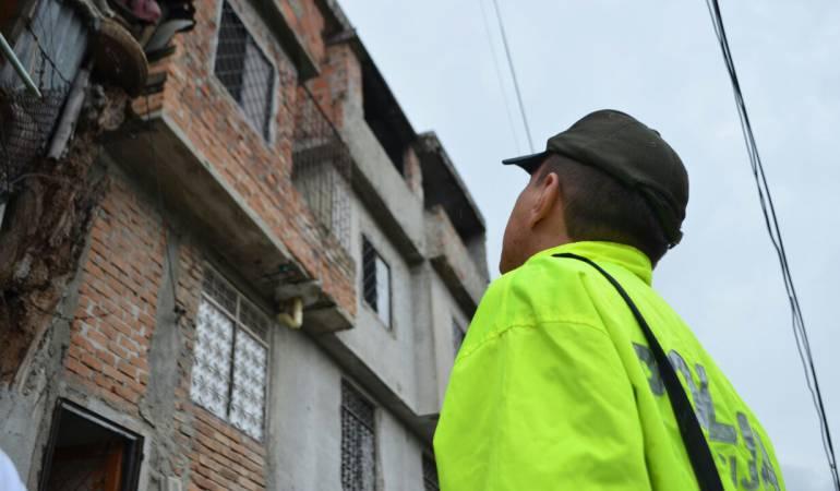 Demolición en Ibagué: Continúa demolición de viviendas destinadas al expendio de alucinógenos en Ibagué