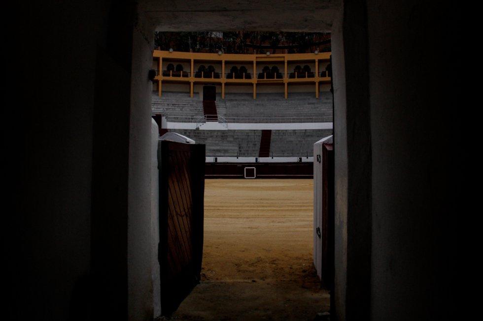 Desde el año 2012 la plaza de toros La Santamaría fue clausurada.