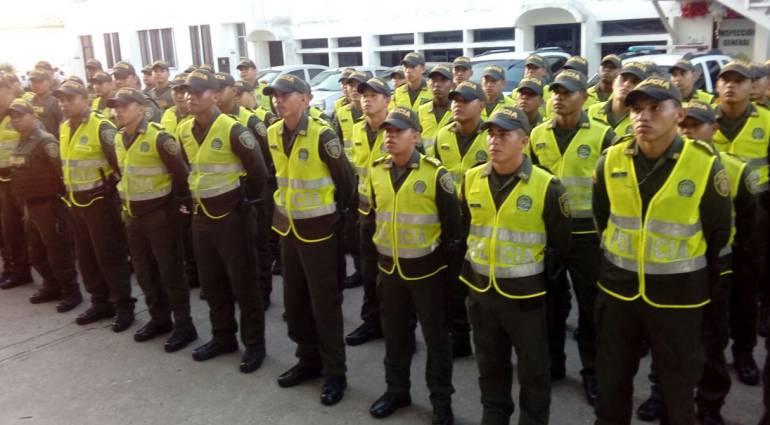 Seguridad durante las fiestas del 20 de enero en la costa: 800 policías garantizan la seguridad durante las Fiestas del 20 de Enero en Sincelejo