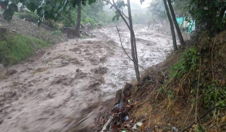 Riesgo de avalancha y desbordamientos en San Luis de Gaceno ... - Caracol Radio