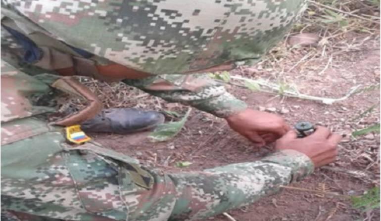 Explosivos del Eln en Cesar: Cinco artefactos explosivos del Eln fueron encontrados en Cesar