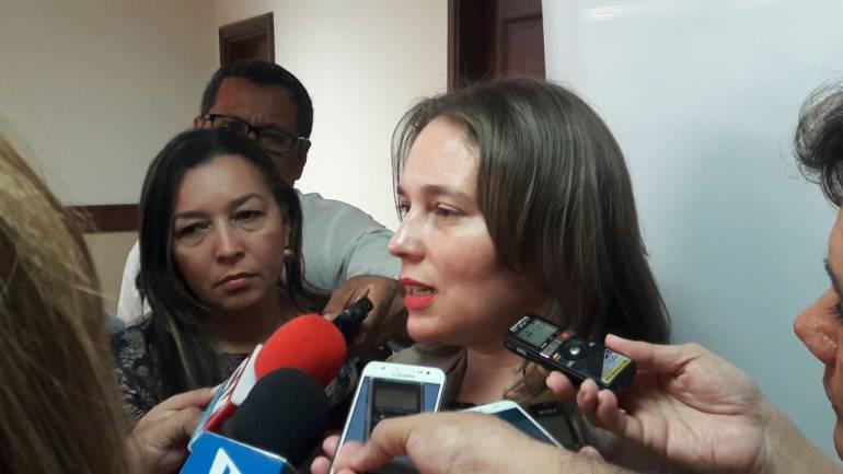 Ana María Badel, directora de Probarranquilla.
