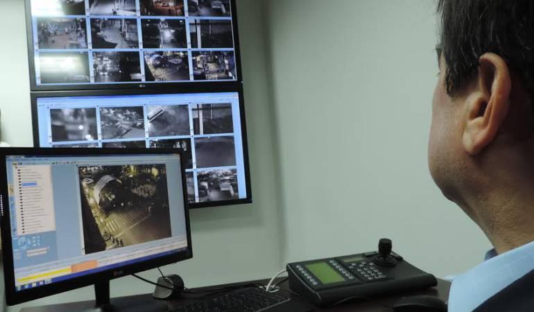 Con circuito cerrado de cámaras buscan garantizar seguridad en Duitama: Con circuito cerrado de cámaras buscan garantizar seguridad en Duitama