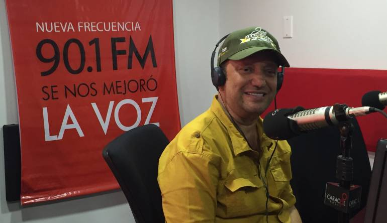 El compositor, Chelito de Castro.