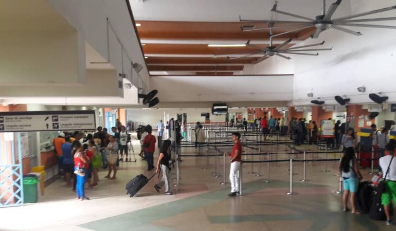 Mantenimiento del edificio del terminal aéreo de San Andrés costará $600 millones