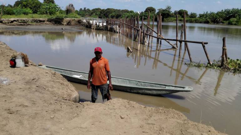 Finaliza cierre definitivo del chorro que inundó cultivos en el norte de Bolívar: Finaliza cierre definitivo del chorro que inundó cultivos en el norte de Bolívar