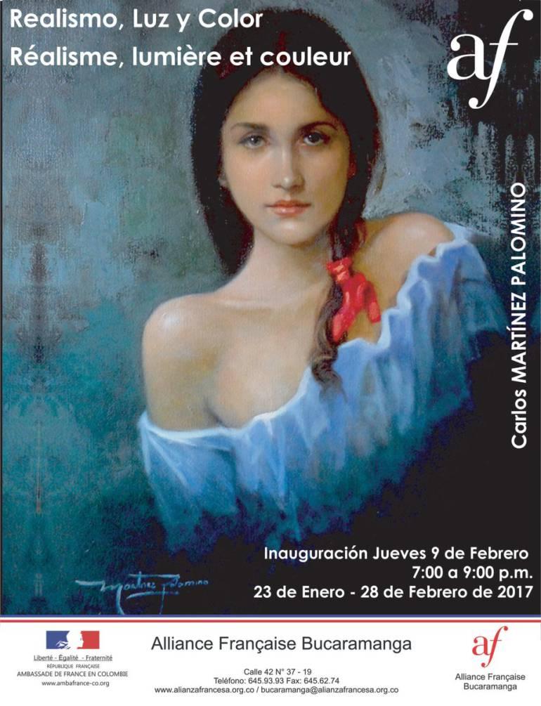 PINTURA ALIANZA COLOMBO FRANCESA BUCARAMANGA: Realismo, luz y color en la Alianza Colombo Francesa